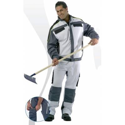 Pantalón de trabajo Línea 5 multibolsillos con elástico en cintura