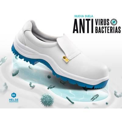 Zapato S2 de microfibra...