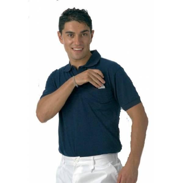 Polo manga corta con bolsillo - S6502