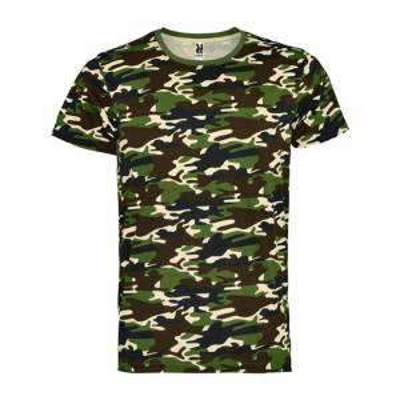 Camiseta estampado camuflaje
