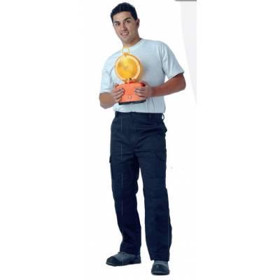 WTB1416 Pantalón con refuerzos en culera y rodillas, sin cintura elástica, multibolsillos.