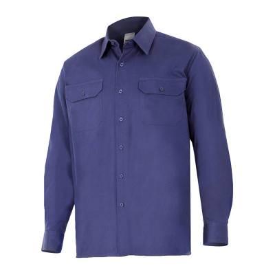 Camisa de algodón de manga...