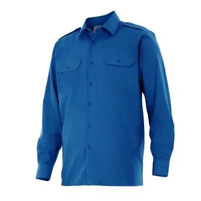 Camisa uniforme de manga larga