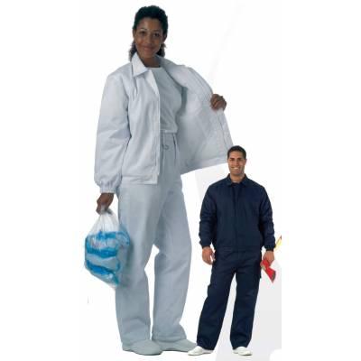 Pantalón acolchado con cintura elástica y un bolso en pernera. WTB1410