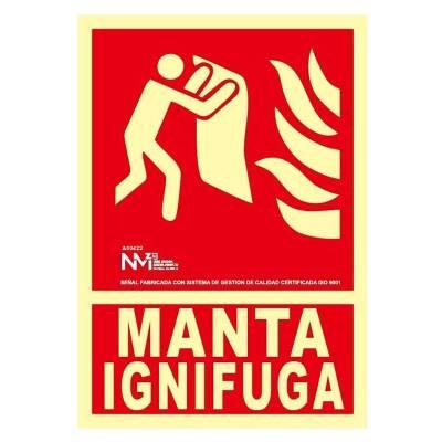 Señal MANTA APAGAFUEGOS...