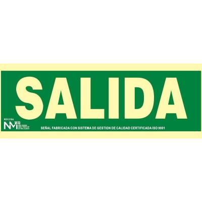 SEÑAL SALIDA...