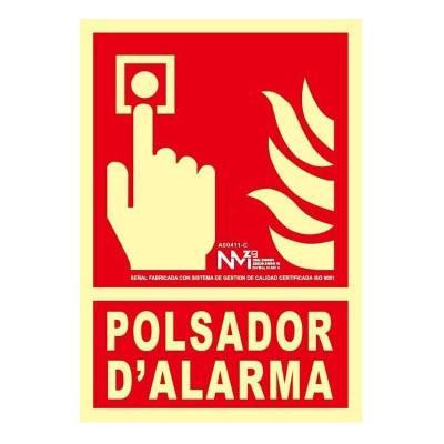 SEÑAL POLSADOR D´ALARMA...