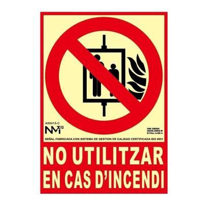 SEÑAL NO UTILIZAR EN CAS...