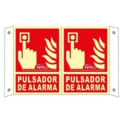 SEÑAL PULSADOR DE ALARMA DE...