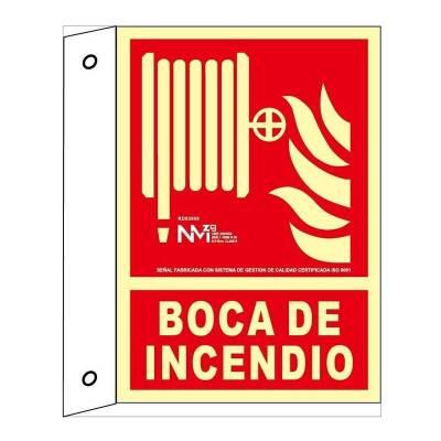 SEÑAL BOCA DE INCENDIO DE...