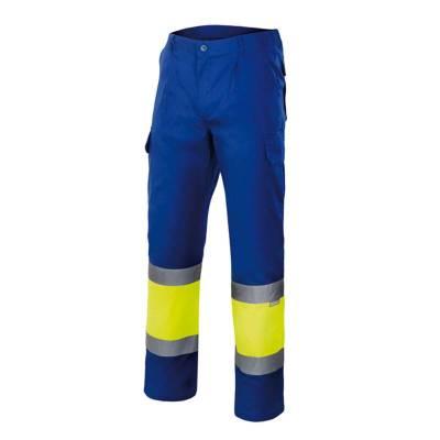Pantalón de trabajo bicolor...