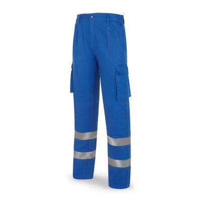 Pantalón azulina algodón