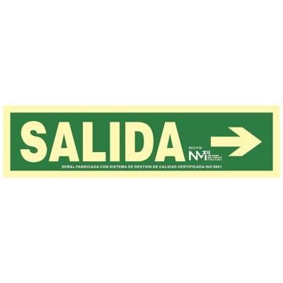 SEÑAL SALIDA FLECHA DERECHA...