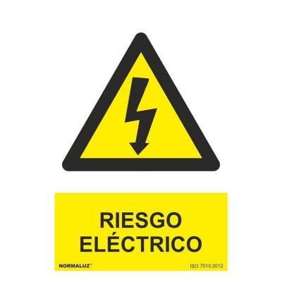 SEÑAL RIESGO ELECTRICO PVC