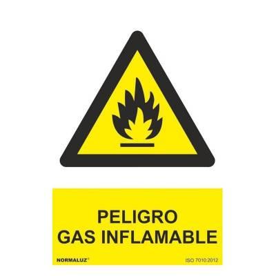 SEÑAL PELIGRO GAS...