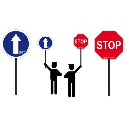 PALETA STOP PVC