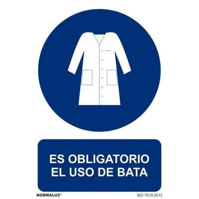 SEÑAL OBLIGATORIO BATA PVC