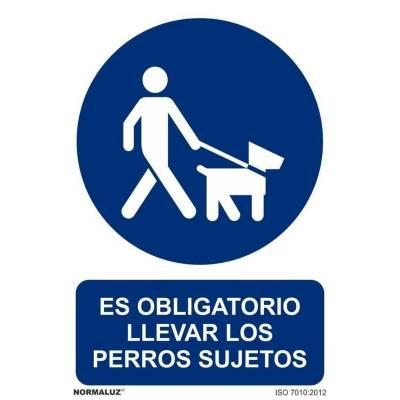 SEÑAL OBLIGATORIO PERROS...
