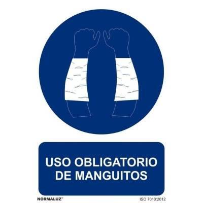 SEÑAL OBLIGATORIO MANGUITOS...