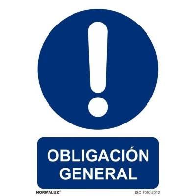SEÑAL OBLIGACION GENERAL PVC