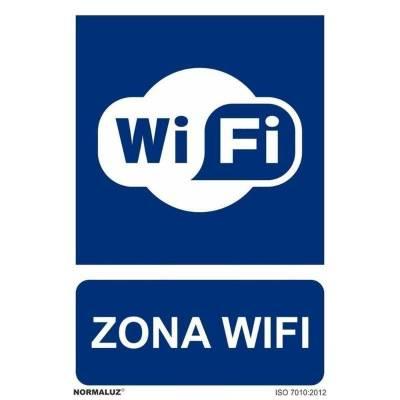 SEÑAL ZONA WIFI PVC