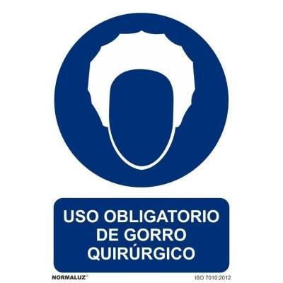 SEÑAL OBLIGATORIO GORRO...