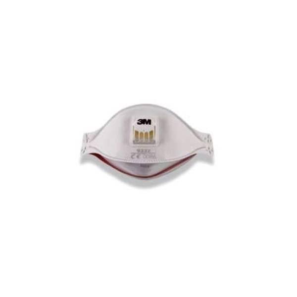 Mascarilla extra confort válvula. Caja 10 uds - 3M9312&