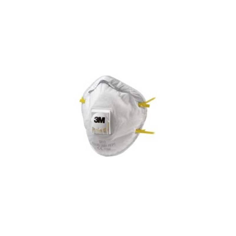 Mascarilla Confort con valvula. Caja 10 uds - 8812&