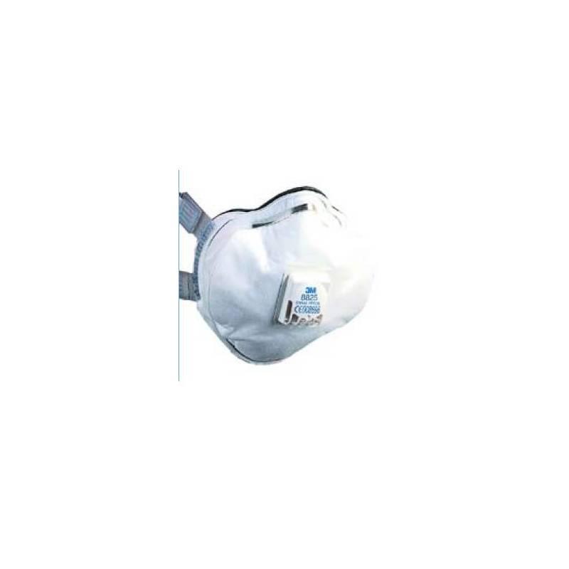 Mascarilla gama alta con válvula. Caja 5 uds - 8825&