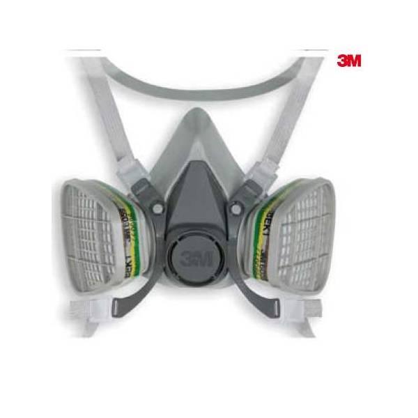 Media máscara Serie 6000 - 3M6100&