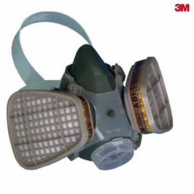 3M 7002 media máscara Serie 7000