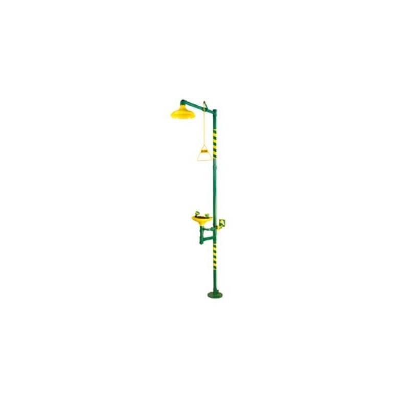 Ducha lavaojos BASIC pedestal - FAC750