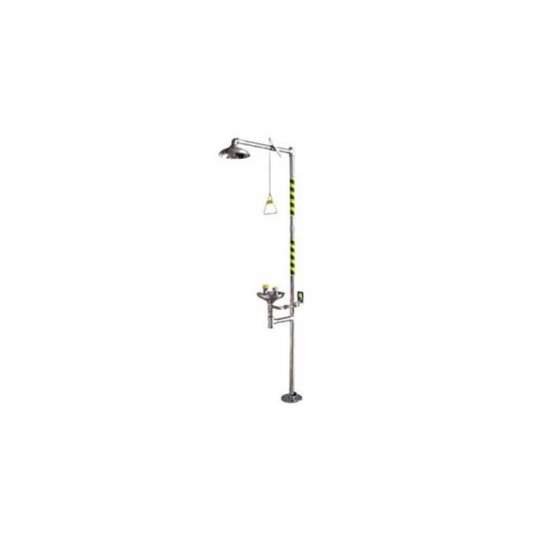 Ducha lavaojos BASIC pedestal INOX - FAC750SS