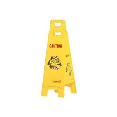 Señal de suelo mojado - 4 lados C831