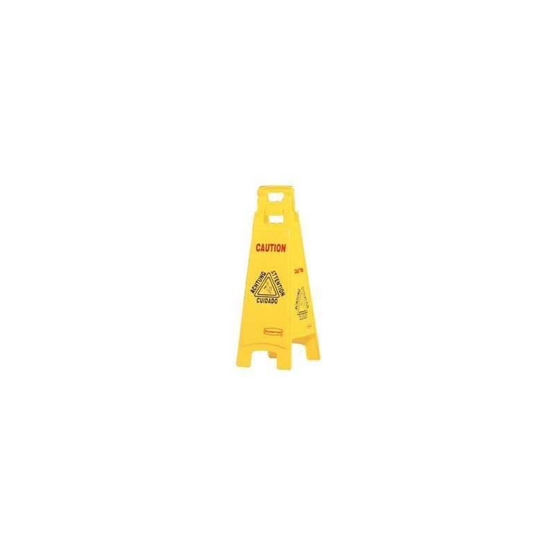 Señal de suelo mojado - 4 lados - C831