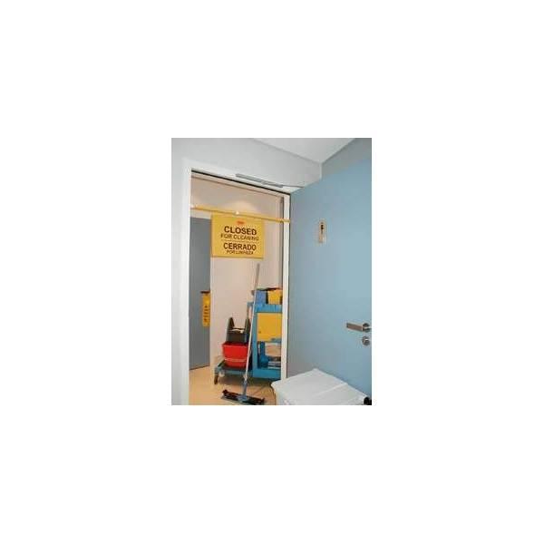 Cartel de seguridad colgante - C844