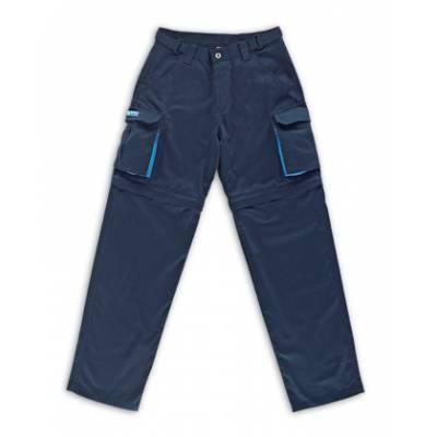 Pantalón mujer azul marino desmontable algodón MA588-MP