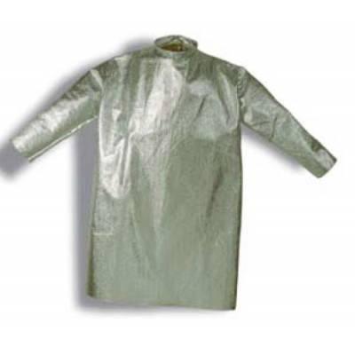Abrigo de fibra aramídica aluminizada