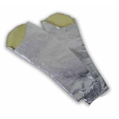 Manga de fibra aramídica aluminizada