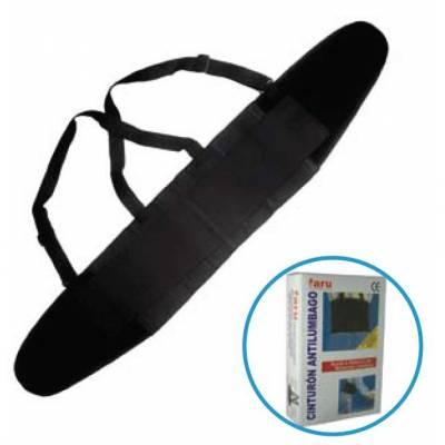 Cinturón antilumbago con hombreras elástico