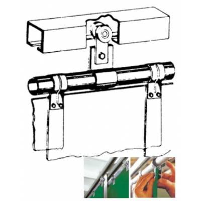 Sistema sujeción movimiento lateral