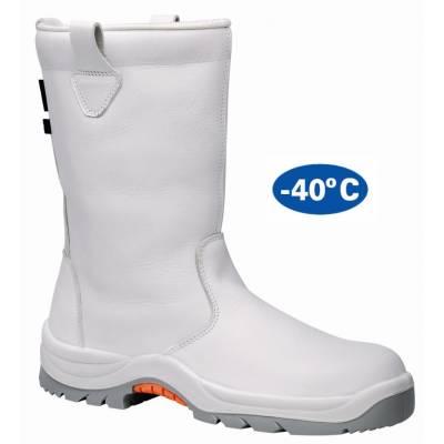 Bota de seguridad FAL especial para el frío en color blanco