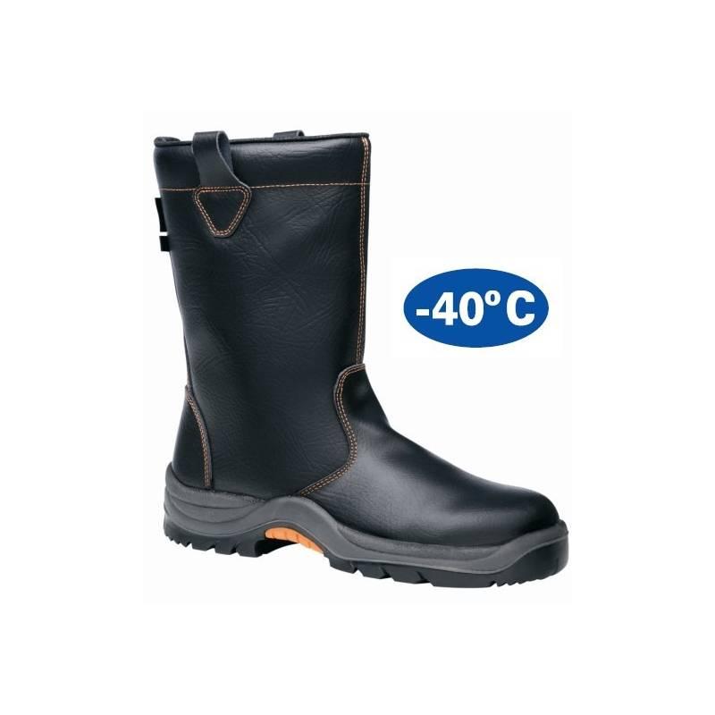 2b65406a3c0 Bota de seguridad FAL Frío Negro S3 + CINAISA.es - ropa de trabajo y...
