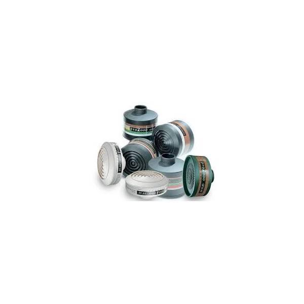 Filtro A1 contra gases y vapores orgánicos- Caja 6 uds