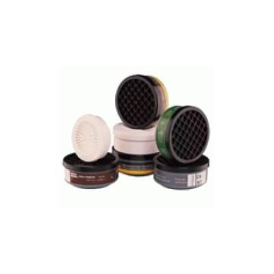 Filtro ABE1P3 Contra gases y vapores, gases ácidos y partículas. Caja 2 uds.