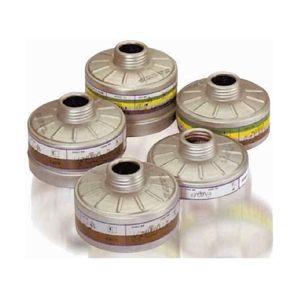 Filtro AX Contra gases orgánicos y vapores. Caja 4 uds.