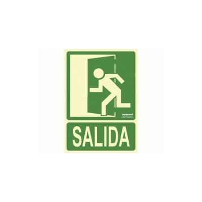 Señal Fotoluminiscente SALIDA (izquierda)