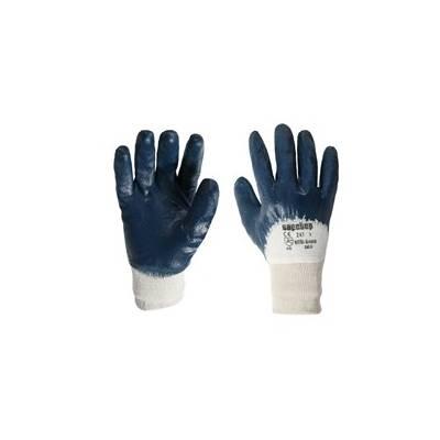 Guante de trabajo sintético nitri grease. Pack 12 uds