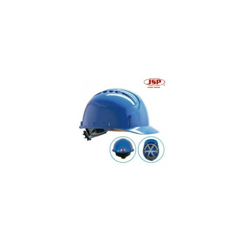 Casco JSP MK7 con ruleta ventilado