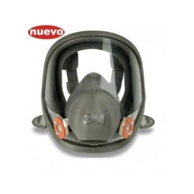 3M 6700S/ 6800S/ 6900S Máscara completa panorámica (elastómero)